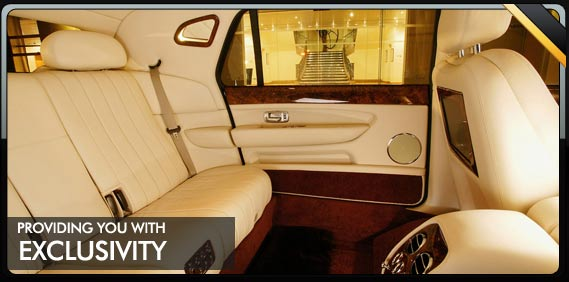 exclusive limo rental