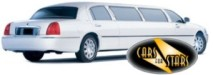 White limousines for hire for weddings in the Manchester area. Wedding limousines Manchester