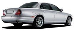 Chauffeur driven long wheel Jaguar XJ (LWB) for hire